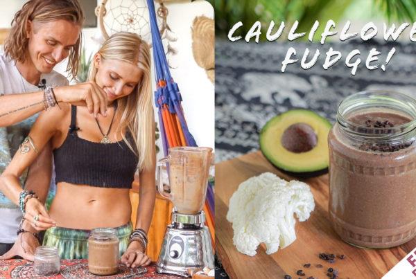 Cauliflower Fudge Smoothie