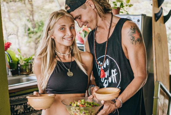 Vegan meals by Boho Beautiful