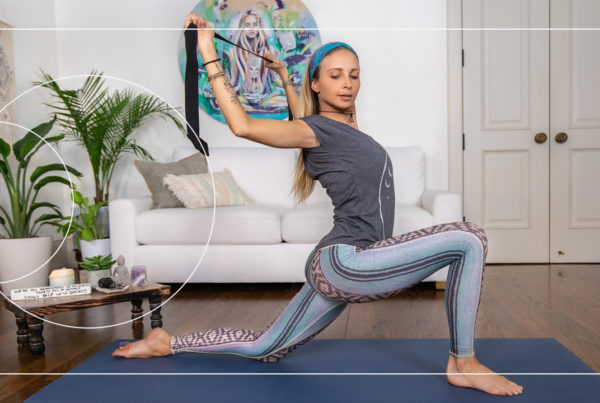 Open your heart chakra with this free and gentle Boho Beautiful yoga class by Juliana Spicoluk and connect with your body and mind.
