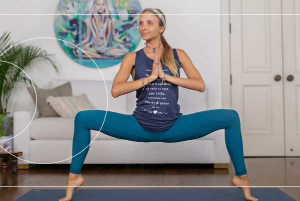 Challenge your waistline, core and abs with this free Boho Beautiful Yoga Workout by yoga teacher Juliana Spicoluk.