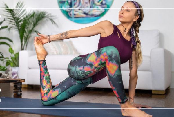 Juliana Spicoluk teaches a free power yoga workout
