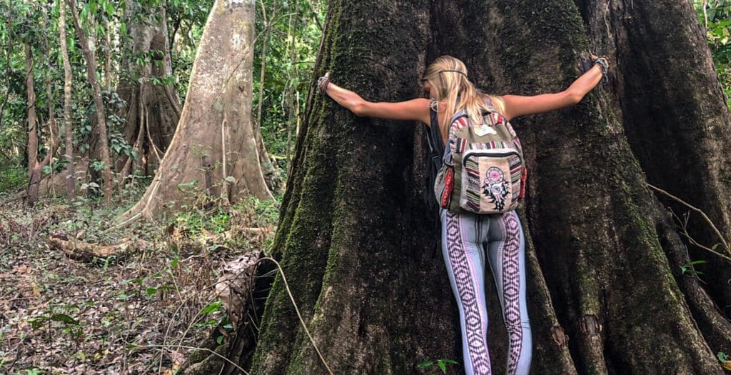 Juliana Spicoluk & The Giant Trees of the Amazon Jungle