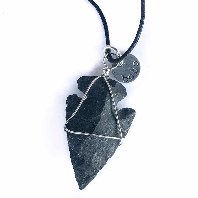 Black Onyx Stone Necklace