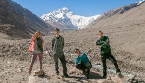 Boho Beautiful Crew At Everest Base Camp