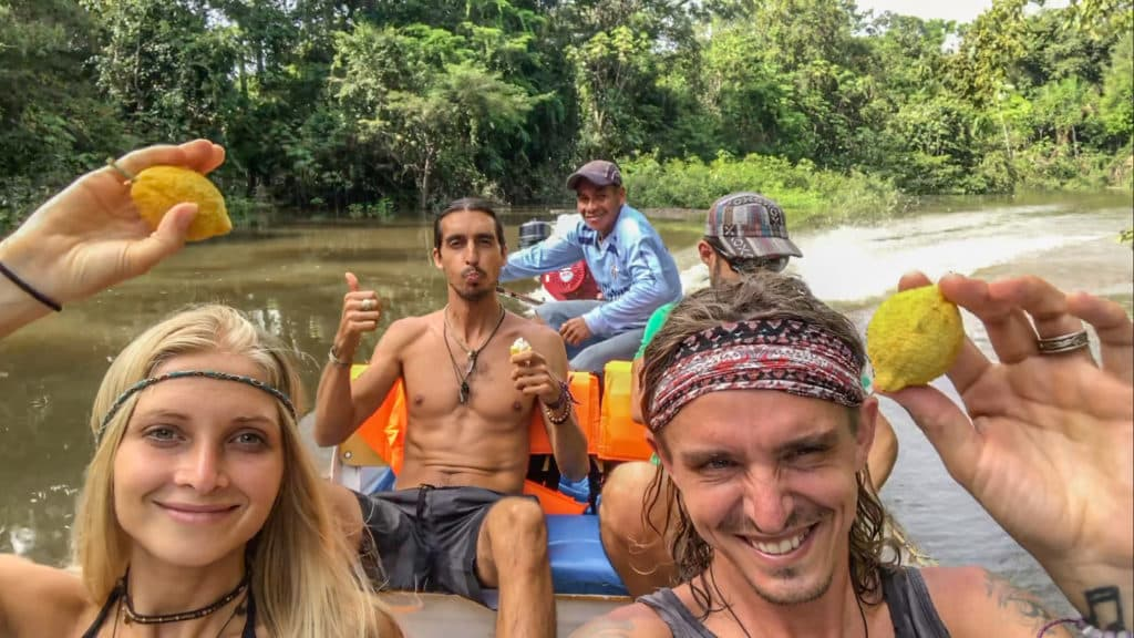 The Boho Beautiful amazon river fruit cruise