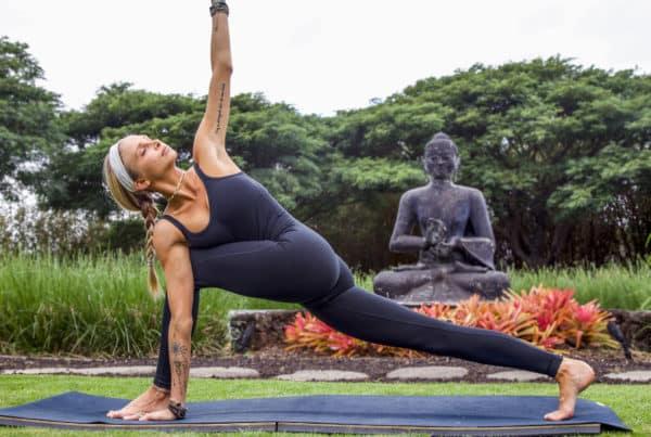 Blissful Yoga Flow with Juliana Spicoluk from Boho Beautiful